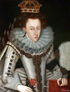 HM THE QUEEN ANNE OF DENMARK AS QUEEN OF SCOTLAND