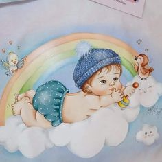 Babys, Mickey Mouse, Disney Characters, Fictional Characters, Disney Princess, Kids, Kids Coloring, Baby Painting, Boy Babies