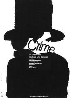 Zločin a trest / Crime et châtiment Poster Making, Silhouette, Movie Posters, Movies, Artists, Blame, Films, Film Poster, Cinema