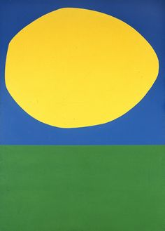 High Yellow by Ellsworth Kelly  http://viz.dwrl.utexas.edu/blog/10#