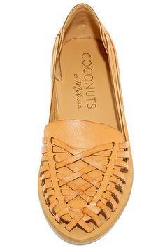 Coconuts Folly Natural Huarache Sandals at Lulus.com!