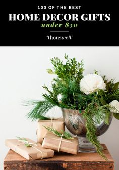 100 OF THE BEST HOME DECOR GIFTS UNDER $50 | Thou Swell http://www.thouswell.co/100-best-home-decor-gifts-50/