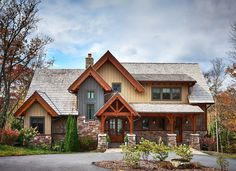 Informal Mountain Living - 18716CK | Craftsman, Mountain, Vacation, Photo Gallery, 1st Floor Master Suite, Butler Walk-in Pantry, Jack & Jill Bath, Loft, PDF | Architectural Designs