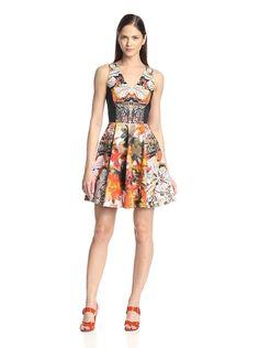 LOVE! Blue Les Copains Women's Palm Print Dress, http://www.myhabit.com/redirect/ref=qd_sw_dp_pi_li?url=http%3A%2F%2Fwww.myhabit.com%2Fdp%2FB00TY7RSMS%3F