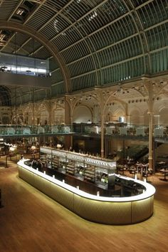 Designers shortlisted for a Restaurant and Bard Design Award for the champagne bar at the Paul Hamlyn Hall, Royal Opera House London Champagne Bar, Covent Garden, Restaurant Design, Restaurant Bar, Royal Opera House London, Newport, Central Bar, Luxury Bar, Bar Interior Design