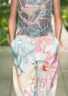 patternprints journal: PRINTS, PATTERNS, TEXTURES, DETAILS FROM MILAN CATWALKS (WOMENSWEAR S/S 2016) / Laura Biagiotti