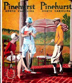 Pinehurst NC - Where everyone needs to go for a round of rewarding golf.