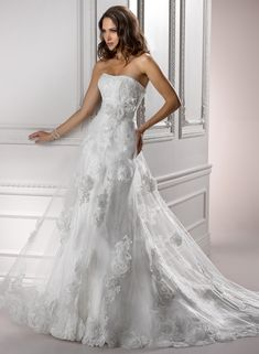 Maggie Sottero  (I think this is  the same designer that did my prom dress)