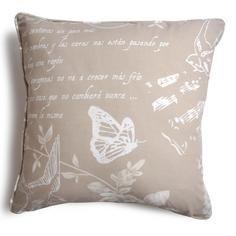 Latte Nostalgic Bluebird Collection Cushion