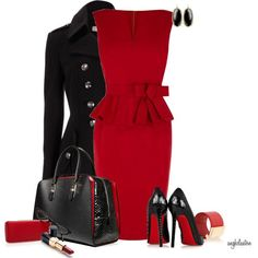 """Black Pump Contest 3"" by angkclaxton on Polyvore"