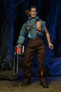 """8-inch Mego sized Bruce Campbell """"Ash"""" action figure coming from Neca Toys for their """"Evil Dead 2"""" line!"""