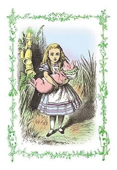 Sir John Tenniel (1820 – 1914) was an English illustrator best remembered for his work in Lewis Carroll's Alice's Adventures in Wonderland and Through the Looki