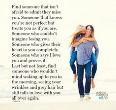 Lessons Learned in Life | Someone who loves you and proves it.