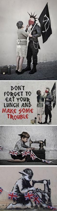 Banksy's Real Life Characters