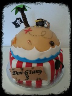 Pirate cake / piraten taart