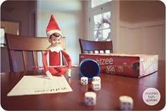 Elf on the elf...brings a new game or plays an old one