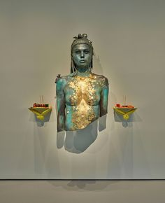 From Palazzo Grassi,Room 11: Damien Hirst,Aspect of Katie Ishtar ¥o-landi. Photographed by Prudence Cuming Associates © Damien Hirst and Science Ltd. All rights reserved, DACS/SIAE 2017.