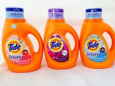 6 Tide Liquid Laundry Detergent Selection Total 144 Loads (276 FL. OZ.) 8.58QT.❤ #Tide