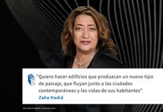 Frases: Zaha Hadid y el paisaje Arquitectos Zaha Hadid, Zaha Hadid Architects, Architecture Quotes, Simple Quotes, Quotations, Words, Dragon, Google, Famous Architects