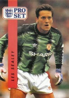 Les Sealey of Man Utd in 1990.