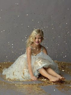 Every girl no matter how old needs a glitter photo shoot