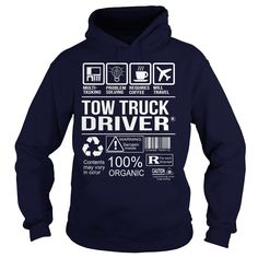 (New Tshirt Design) Awesome Tee For Tow Truck Driver [Hot Discount Today] Hoodies Tee Shirts