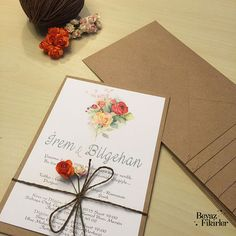Krafted Love Wedding İnvitation 25 Invitation by Beyazfikirler