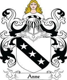 Anne Family Crest and Coat of Arms
