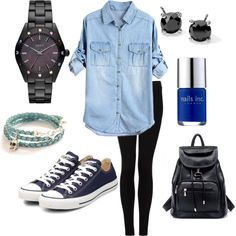 """Denim"" by vaneros on Polyvore"