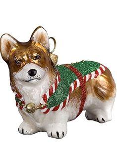 corgi - Pembroke Welsh Corgi Christmas Ornament - Santa's Little Yelper