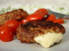 Croatian cheeseburgers