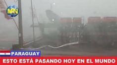 Poderoso Tornado arrasa en Paraguay | Expo Santa Rita, 14 de mayo 2017