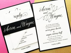 Wedding Invitations Wedding Invites Classic Wedding