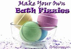 How to Make Homemade Bath Fizzies - Passion For Savings