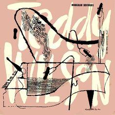 1955 Teddy Wilson [Norgran Records EP] cover design by David Stone Martin