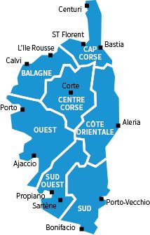 Carte Corse Fleuve.Les 83 Meilleures Images De Cartes De Corse En 2018 Corse