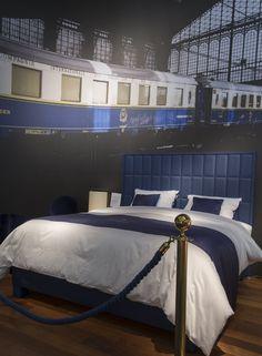 Treca Interiors de Paris - nieuwe exclusieve Treca collectie: Oriënt Express - binnenkort exclusief  gepresenteerd bij: OOST Slaapcomfort Sinds 1935 Zeeburgerpad 80-85 AMSTERDAM