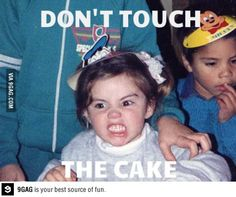 Don't touch the Cake