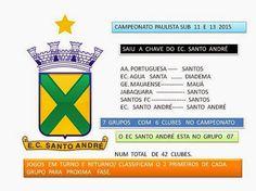 Blog do Bellotti - Esporte Clube Santo André: Categorias de Base - FPF divulga grupos sub 11 e s...