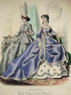 Vintage Gowns, Vintage Ladies, Vintage Outfits, London Art, Paris, Fashion Plates, Fashion History, Hand Coloring, Fashion Prints
