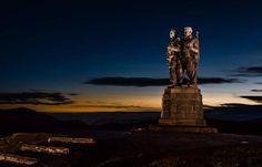 Commando memorial at Spean Bridge Beautiful World, Dusk, The Great Outdoors, Fathers, Statue Of Liberty, Scotland, Bridge, Memories, Photos