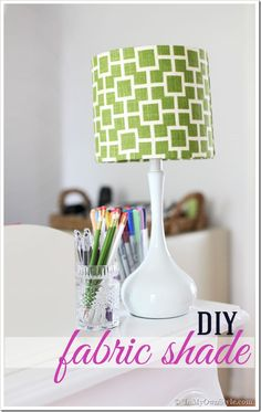 Fabric-Covered-Lampshade-Step-by-step-tutorial