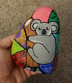#korbysrocks Koala Painted Rock