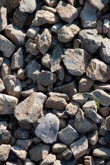 Eine Kollektion von unterschiedlichen Steinen - Hintergrund aus Steinen Firewood, Pictures, Woodburning