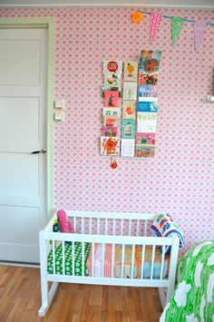 Home : Eleven Vintage Kids' Rooms You'll Super-Love  Pastel room at La silla Turquesa