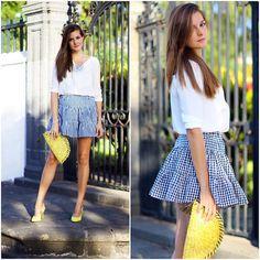 Get this look: http://lb.nu/look/7760754  More looks by Marianela Yanes: http://lb.nu/marilynscloset  #bohemian #classic #street http://marilynsclosetblog.blogspot.com.es/2015/09/vichy-skirt.html