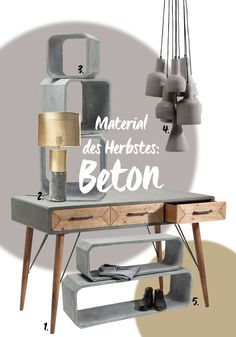 Beton als modernes Stilmittel, Source by decoration wood lamp decor lamp Concrete Table, Concrete Furniture, Concrete Wood, Concrete Design, Diy Furniture, Furniture Design, Concrete Crafts, Concrete Projects, Diy Crafts On A Budget