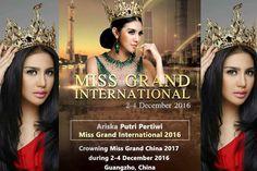Ariska Putri Pertiwi to visit China for Miss Grand China 2017