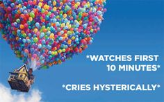 """In conclusion: I will be watching UP tonight.   19 Things You Probably Didn't Know About Disney Pixar's """"UP"""""""