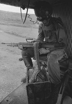 Door gunner ~ Vietnam War